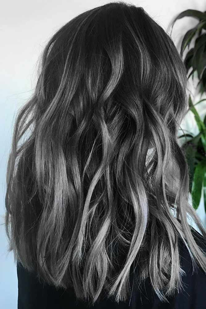 How To Take Care Of Salt And Pepper Hair #saltandpepperhair #highlights