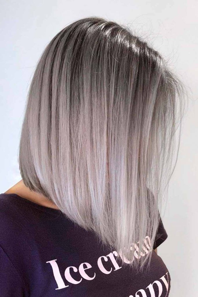 Salt And Pepper 2020 Ombre With Graphite Undertone