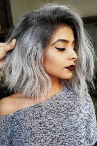 Salt And Pepper Sombre #saltandpepperhair #greyhair