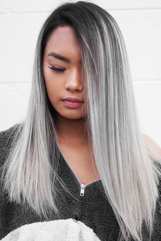 Basics You Should Know Before Getting Salt And Pepper Hair #saltandpepperhair