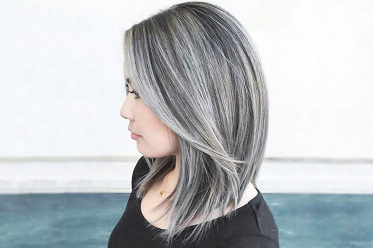 hairstyles for salt and pepper hair for women salt and how to get and take care of the salt and pepper hair trend