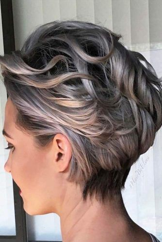 The Waves Crash Wedge #wedgehaircut #haircuts