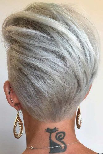 Pompadour Wedge Haircut #wedgehaircut #haircuts
