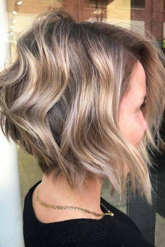 Wavy Wedge #wedgehaircut #haircuts