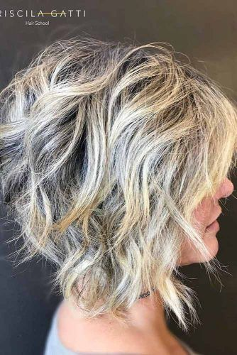 Layered Medium Wedge #wedgehaircut #haircuts