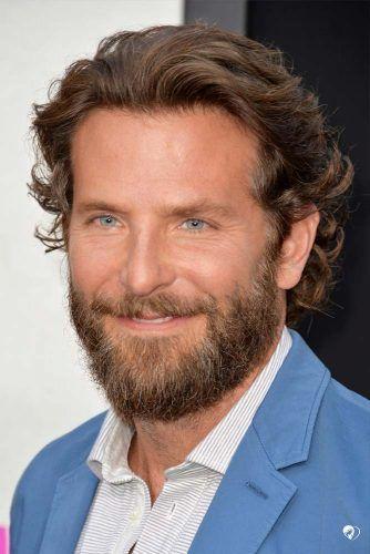 Full Beard Medium Wavy Hair #beard