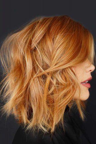 Messy Layered Lob #choppybob #bobhairstyles #bobhaircuts #hairstyles #haircuts