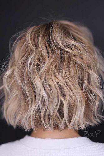 Textured Bob For Fine Hair #choppybob #bobhairstyles #bobhaircuts #hairstyles #haircuts