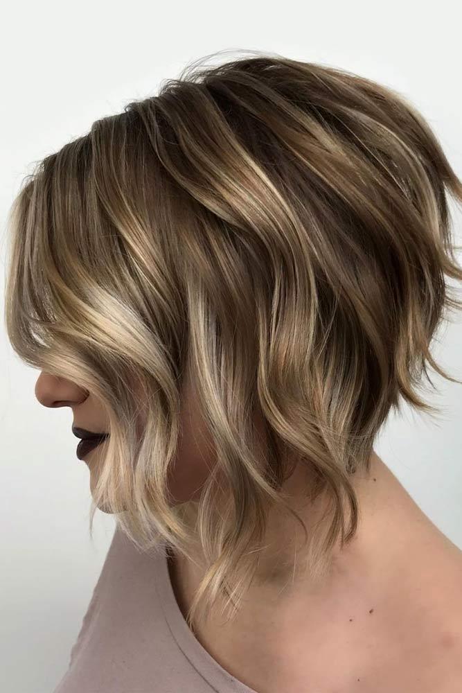Inverted & Wavy Cut #choppybob #bobhairstyles #bobhaircuts #hairstyles #haircuts