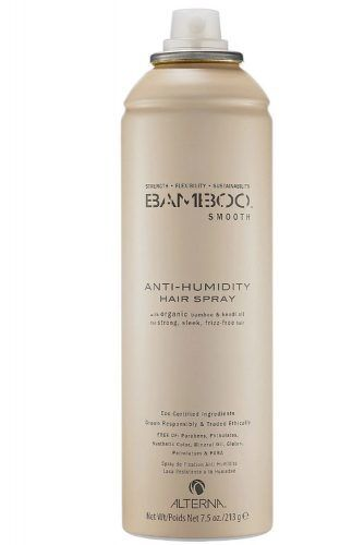 Bamboo Smooth Anti-Humidity Hair Spray, Flexible Hold #coarsehair