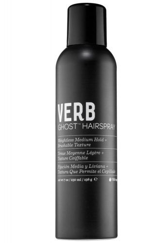 Verb Ghost Hairspray Weightless Medium Hold + Brushable Texture #coarsehair