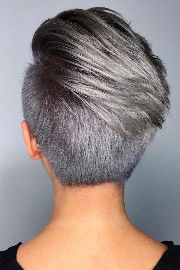 30 Cute Rebellious Half Shaved Head Hairstyles For Modern Girls