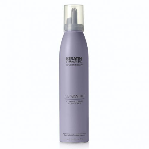 Keratin Complex Kera Whip Hydrating Cream Conditioner #keratintreatment