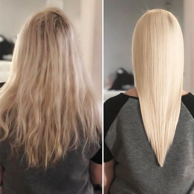 Is It Different from Chemical Relaxers? #keratintreatment