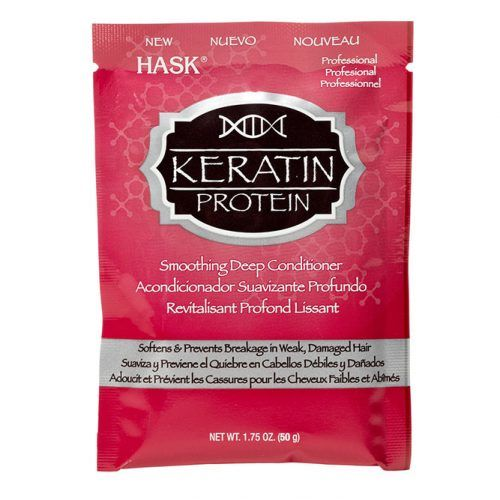 Hask Keratin Protein Smoothing Deep Conditioner Pack #keratintreatment