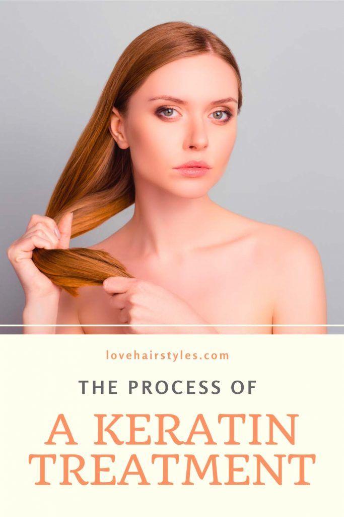 The Process Of A Keratin Treatment