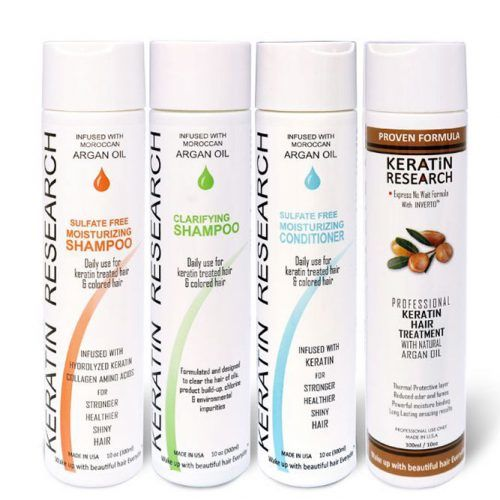 Keratin Research Hair Treatment Set #keratintreatment