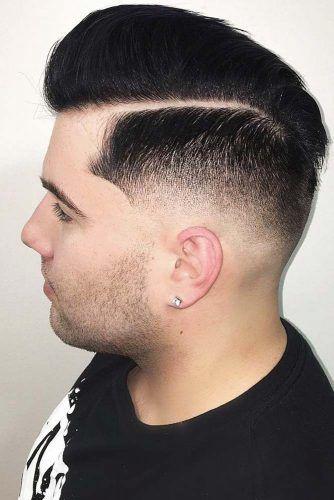 High Skin Fade + Hard Part Comb Over #menshair #hardparthaircut #menshaircuts