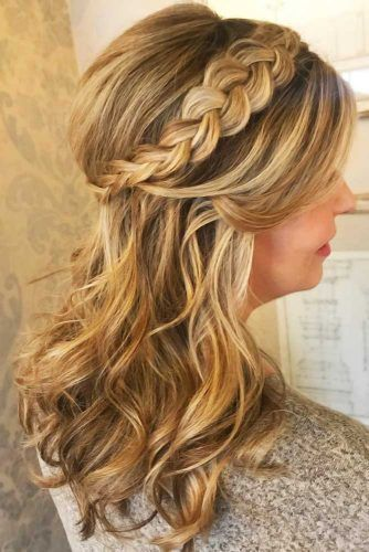 Simple Dutch Braid Half-Up #braids #halfup