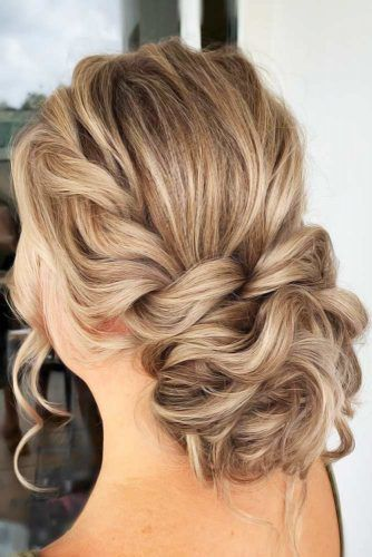 Super Voluminous Twisted Low Bun #updo #bun