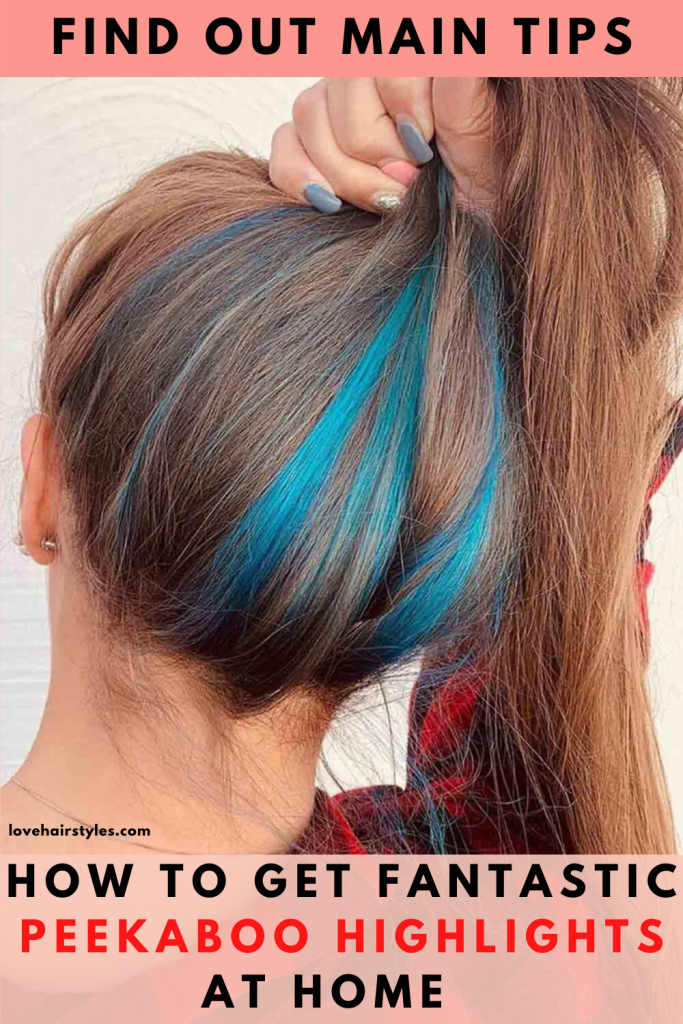 Natural Hair With Lovely Note Of Blue Color