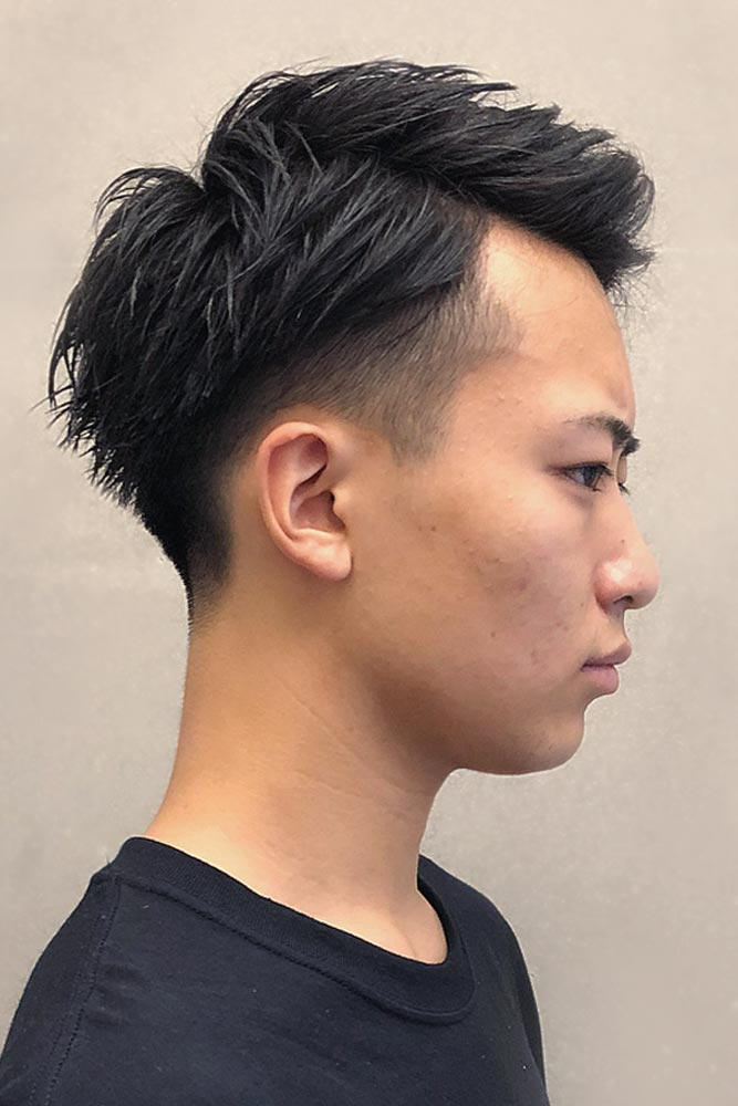 Tousled & Thick Medium Two Block Haircut #twoblockhaircut #haircuts #menhaircuts