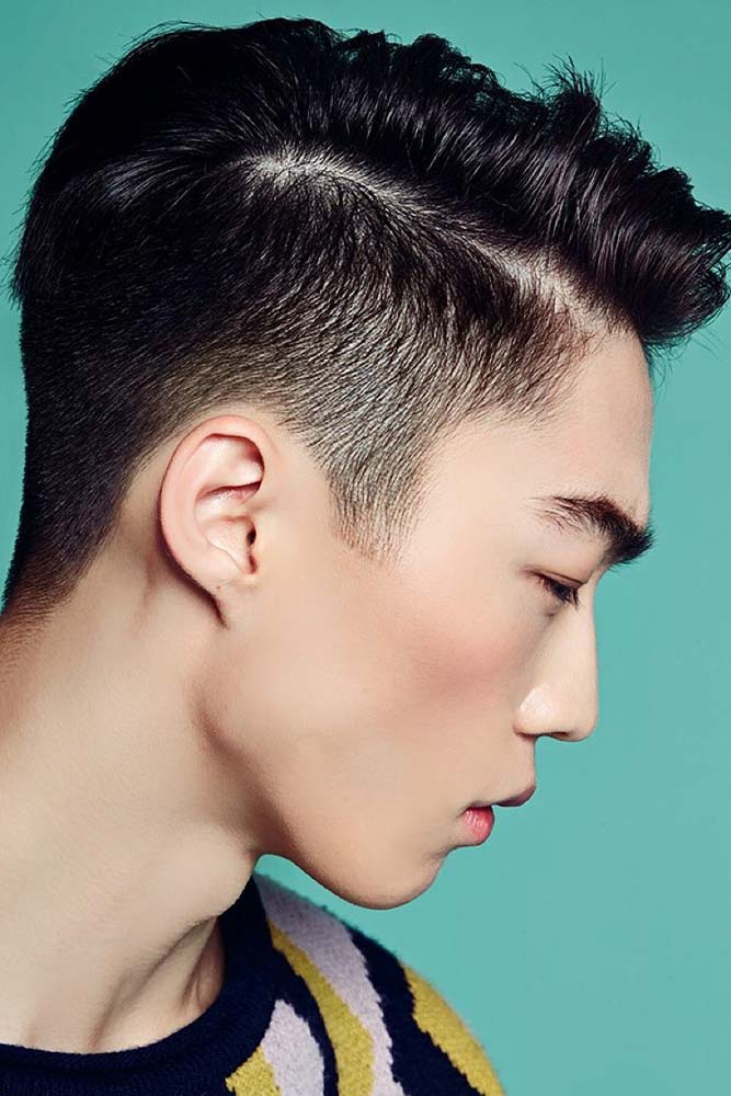 Two Block Haircut With Side Part #twoblockhaircut #haircuts #menhaircuts