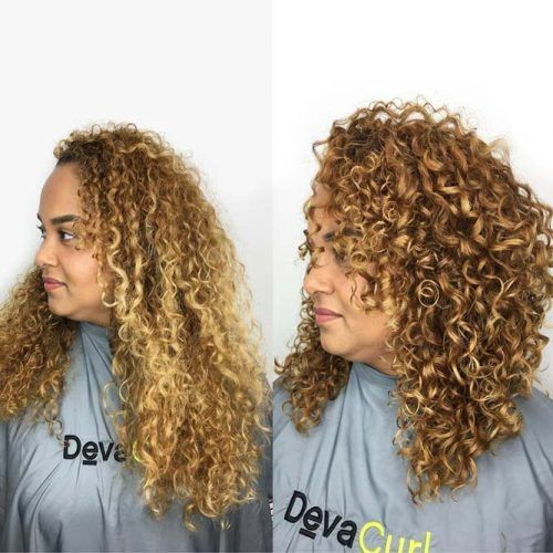 Tips For Your Deva Cut Before And After Routine #devacut #haircuts