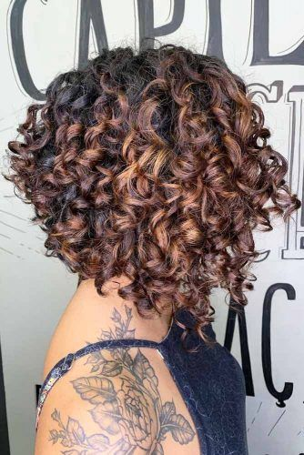 Short Stacked Deva Cut #devacut #haircuts
