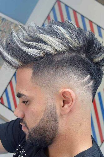 Faux Hawk #dropfade #haircuts #menhaircuts