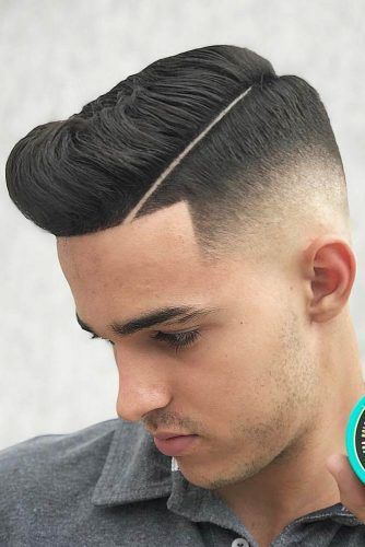 Hard Part Drop Fade #dropfade #haircuts #menhaircuts