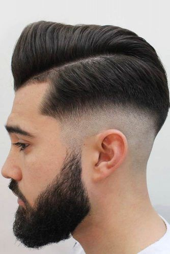 Side Part Drop Fade #dropfade #haircuts #menhaircuts