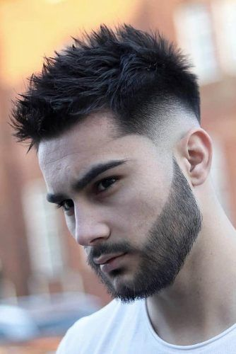 Spiky Top Drop Fade #dropfade #haircuts #menhaircuts