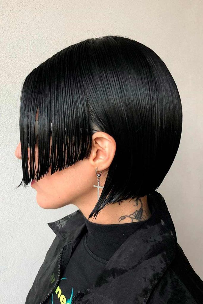 Sleek Hime Cut