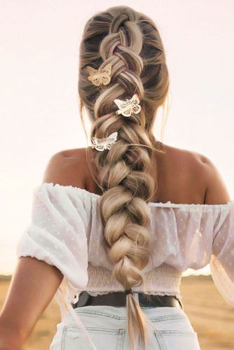 Dutch Faux Hawk Braid #hippiehairstyles