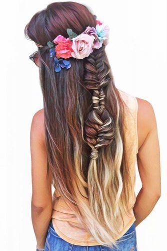 Fishtail & Infinity Braids #braids #hippiehairstyles