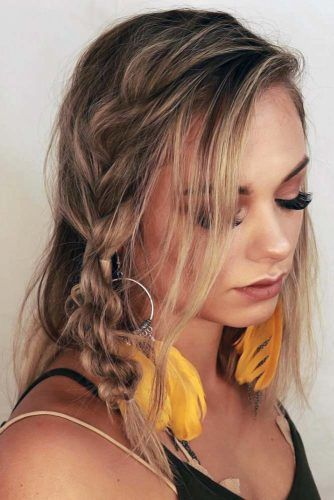 Topsy Tail Braid #hippiehairstyles