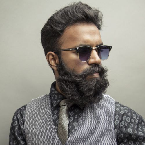 How To Trim A Long Beard #howtotreamabeard #beard