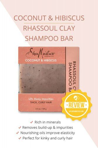Coconut & Hibiscus Rhassoul Clay Shampoo Bar #shampoobar #hairproducts