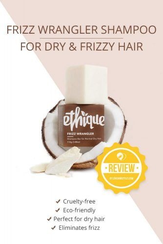 Frizz Wrangler Shampoo For Dry & Frizzy Hair #shampoobar #hairproducts