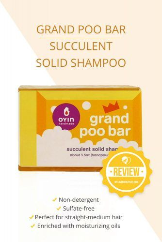 Grand Poo Bar Succulent Solid Shampoo #shampoobar #hairproducts