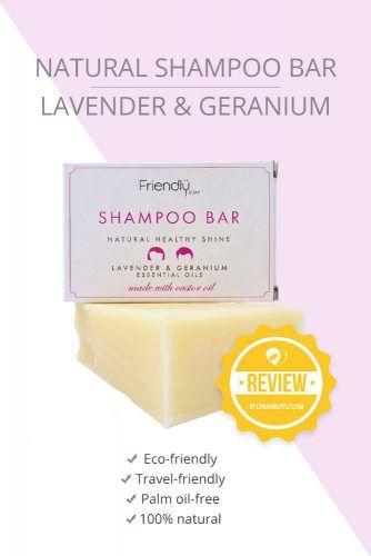 Natural Shampoo Bar Lavender & Geranium #shampoobar #hairproducts