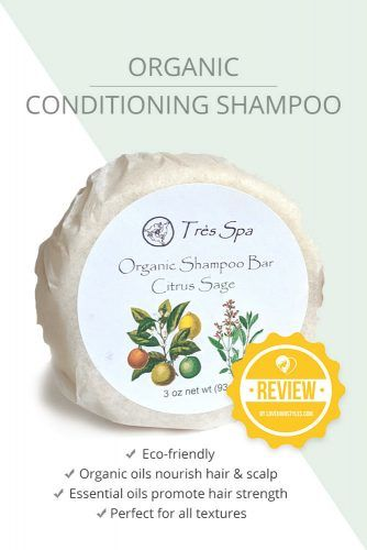 Organic Conditioning Shampoo #shampoobar #hairproducts