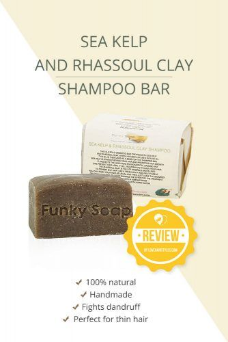 Sea Kelp And Rhassoul Clay Shampoo Bar #shampoobar #hairproducts