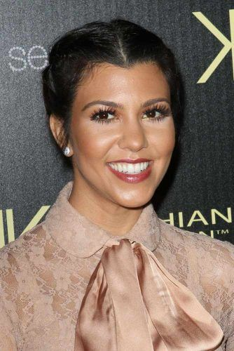 Kourtney Kardashian #widowspeak #widowspeakhair