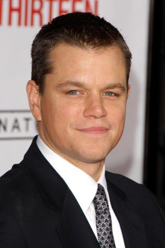 Matt Damon #widowspeak #widowspeakhair