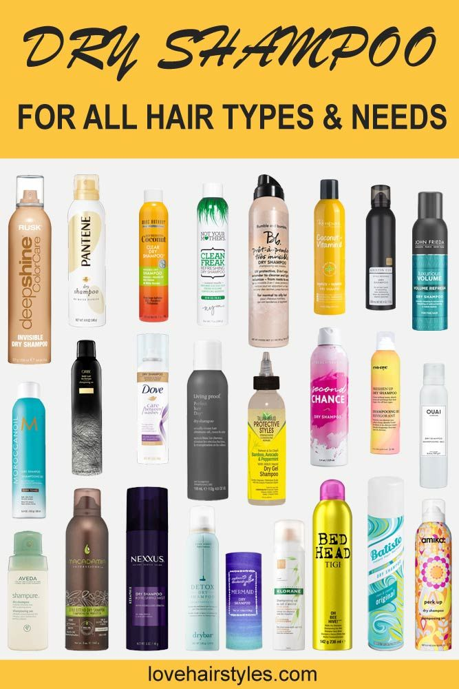 Dry Shampoo Brands That Actually Work Products For All Hair Types & Needs