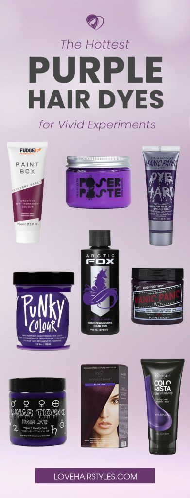 The 9 Damage Free Purple Hair Dye Brands For Safe Color Experiments