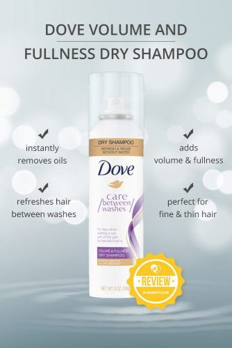 Dove Volume And Fullness Dry Shampoo #dryshampoo #shampoo