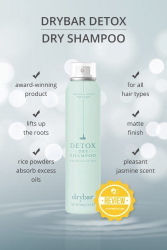 Drybar Detox Dry Shampoo #dryshampoo #shampoo